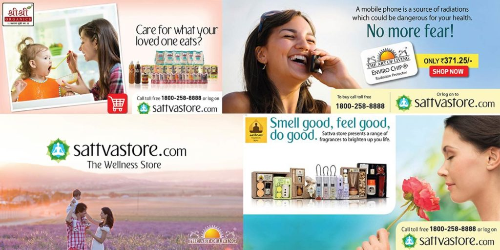 The art of living – Website sales