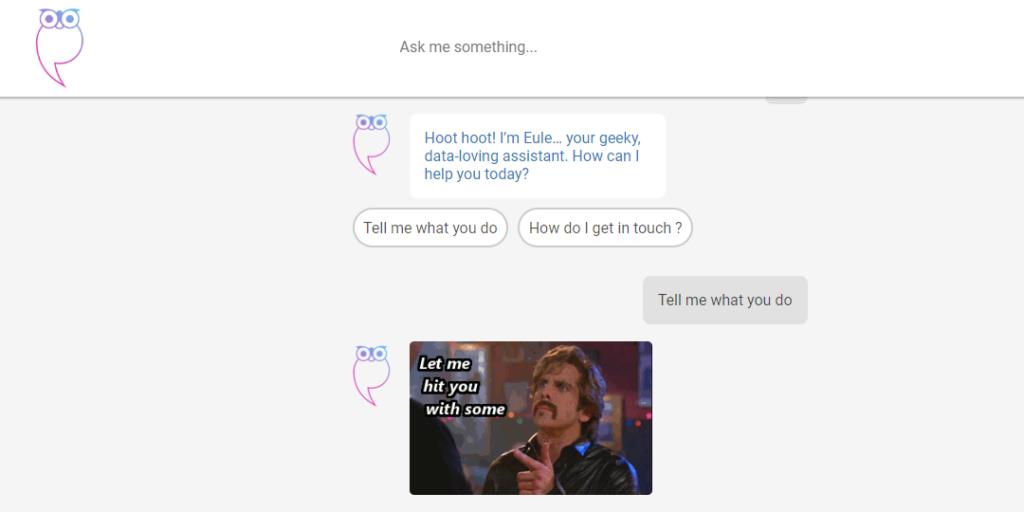 Building An Innovative Chat Based Website & Logo Designing | Eule